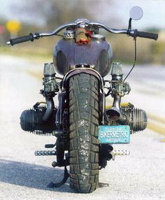 bmw rat bobber - rear | fna custom cycles