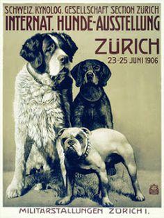 Vintage Venus: International Dog Show Posters