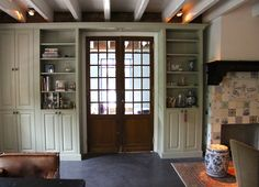 ... in cabinet more decor cabinets kast woonkamer ideen kast box old doors
