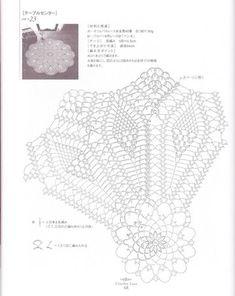 "Photo from album ""Ondori 2008 crochet lace"" on Yandex. Crochet Doily Diagram, Crochet Doilies, Crochet Lace, Doily Patterns, Crochet Patterns, Pineapple Crochet, Mandala, Album, Handmade"