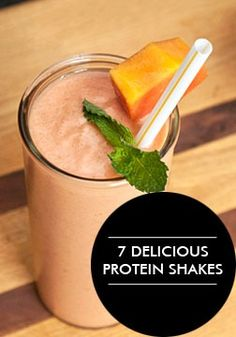 Delicious Protein Smoothie Recipes Opting for a protein shake can be a convenient and tasty post-workout snack or meal replacement.Opting for a protein shake can be a convenient and tasty post-workout snack or meal replacement. Protein Snacks, Pancakes Protein, Healthy Protein Shakes, Protein Smoothie Recipes, Healthy Smoothies, Healthy Drinks, Post Workout Protein Shakes, Healthy Food, Healthy Eating
