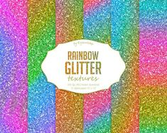 #shining #ombre #rainbow #textures #backgrounds #glitter #colorful