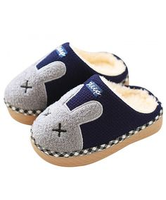 K SkidDERS Kids Plush Moccasins Slipper KIDS  Plush Moccasins