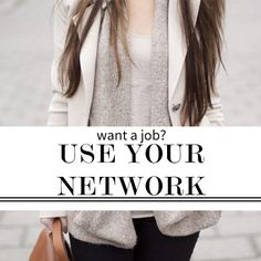 JOB SEARCH: Use your network to get a job | Levo League