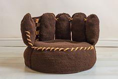 small baseball beanbag....free pattern on ravelry by boomer beanies