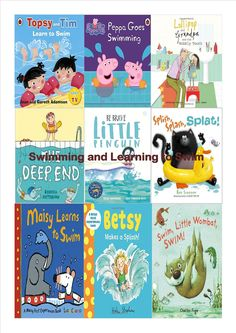 Our recommendations for picture books about Swimming and learning to swim