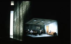 Oleanna. Scenic design by Andrew Jackness.