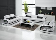 Modern Sectional Leather Sofa For Living Room Sofa L Shaped Sofa pertaining to Modern Sofa Set Designs For Living Room 33762 Corner Sofa Design, Corner Sofa Set, Couch Design, Living Room Sofa Design, Living Room Sets, Living Room Modern, Living Room Designs, Room Corner, Small Living