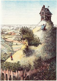 Nancy Ekholm Burket - James and the giant peach from Roald Dahl
