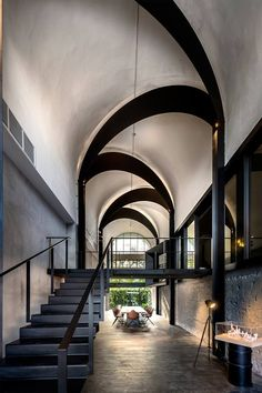 Takýto okúzlujúci strop pretvára celú chodbu a dáva jej myšlienku a feeling..