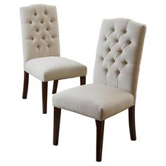 Crown Fabric Dining Chairs
