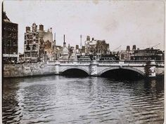 The New York Times has published an extraordinary opinion piece by the writer, Barry Kennerk, on the significance of the centenary of the 1916 Easter Rising for contemporary Ireland. Dublin Street, Dublin City, Old Pictures, Old Photos, Ireland 1916, Easter Rising, Island Nations, Roman Catholic, Aerial View