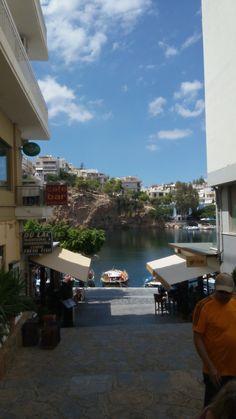 Agios Nikolaos Crete. Greece.