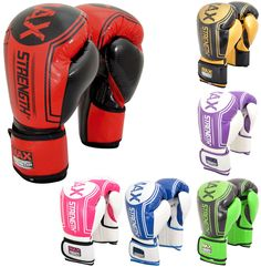 Our Best Range of Maxstrength Boxing Gloves.