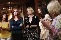 Still of Teri Hatcher, Felicity Huffman, Marcia Cross and Eva Longoria in Desperate Housewives