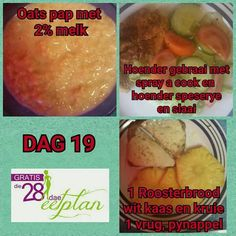 dag 19 28 Dae Dieet, Dieet Plan, Day Plan, Banting, 28 Days, Eating Plans, Meal Planning, Recipies, Food And Drink