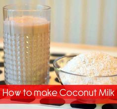 How to make Coconut Milk: A Creamy, Sweet and Delicious. Need nut bag or cheesecloth.