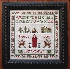 Free Primitive Stitching Patterns | Primitive Cross Stitch Patterns – Catalog of Patterns