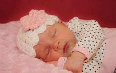 Crocheted Emily Flapper Hat for Newborn to 3 by DesignsbyDecember, $10.00