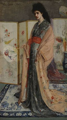 The Princess from the Land of Porcelain (1864), James MacNeil Whistler