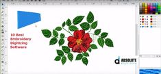 Embroidery Digitizing Software, Embroidery Tools, Custom Embroidery, Machine Embroidery, Embroidery Designs, Brother Pe Design, Coreldraw, Repeating Patterns, Lettering Design