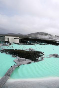Iceland, hot springs