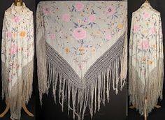 silk piano shawl