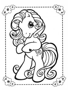 My Little Pony coloring page MLP - Toola-Roola