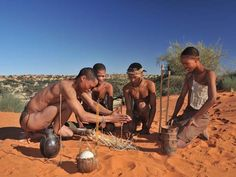 Small communities of Kalahari San Bushmen still live in Namibia - a handful of lodges offer an insight into their lives.