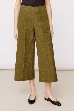 Stylein - Shubert Trousers in green Harem Pants, Trousers, Fall 2018, Green, Stuff To Buy, Fashion, Pants, Moda, Harem Trousers
