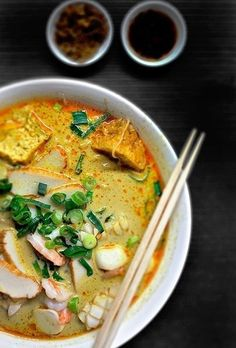Chinese restaurant Happy Chef is a gem amid Sydney's deliciously multicultural dining scene. A favourite on the menu is the seafood laksa, a spicy dish popular in Malaysia and Singapore.