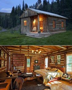 but i guess i'm already there — Dunton Hot Springs. A restored ghost town. Tiny House Cabin, Log Cabin Homes, Log Cabins, Little Cabin, Little Houses, Guest Cabin, Cabin In The Woods, H & M Home, Cabins And Cottages