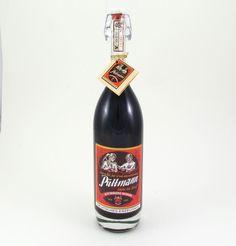 Püttmann Lakritzlikör - Er ist wieder da:1974 gab es ihn das letzte Mal jetzt ist er wieder zu haben: Püttmans Lakritzlikör hergestellt mitten im Revier nach altem Rezept, aufwendig verpackt in einer Bügelflasche mit nostalgischem Etikett. (Inhalt: 0,5l)