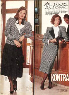 1985, Burda moden