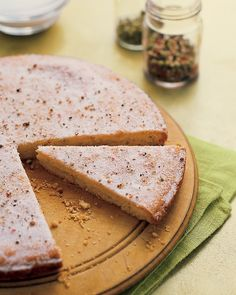 Peppercorn Shortbread | Martha Stewart