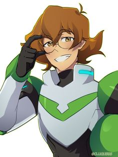 Pidge the Green Paladin of Voltron from Voltron Legendary Defender