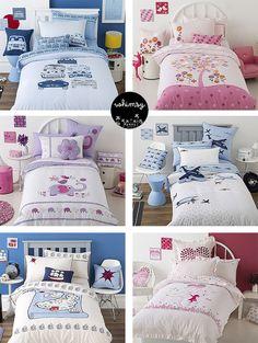 New season kids bed linen.