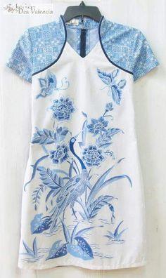Batik encim dress: