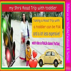 A long car ride with your toddler doesn't have to be a complete nightmare. Taking a road trip with a toddler in tow can be fun and a lot less expensive  Watch our vlog on PinkLife Channel (on YouTube). In this vlog you will enjoy our six hours Road Trip with our little Baby.  Our Shirdi Trip First day Vlog 2019 ! #roadtrip #pinklifechannel #newmomsbuddy #shirdi Used Trucks For Sale, New Trucks, Motorcycles In India, Compact Trucks, Tonka Toys, Long Car Rides