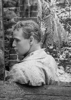 Marlon Brando in The Fugitive Kind.