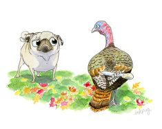 Gobble, Gobble by P Petrocy on Etsy
