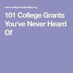The problem is that not every student who wants to attend college receives either federally funded trainee aid or the large majority of scholarships that require either exceptional grades or a particular and exceptional skill in order to get. Grants For College, College List, Financial Aid For College, College Courses, College Planning, Online College, Scholarships For College, College Hacks, Education College
