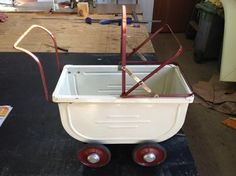 Heritage pram without cover.