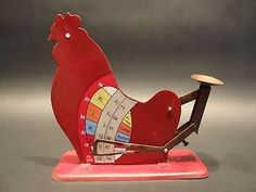 Vintage Farm Country Antique Style Chicken Hen Rooster Egg Scale