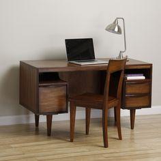 Sterling Antique Honey Desk | Overstock.com
