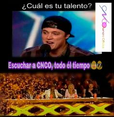 Si ese es me talento Memes Cnco, Funny Memes, Coding, Fandoms, Lol, Humor, My Love, Quotes, Movie Posters