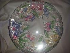 Savoir Vivre Wild Orchard Crystal Platter  #SavoirVivre