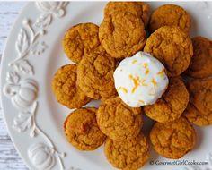 Gourmet Girl Cooks: Pumpkin Orange Spice Mini-Muffins - NEW RECIPE (Sugar Free & Gluten Free)