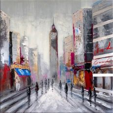 Oil Painting - Empire State Building in New York - Martin Klein - 299 Euro