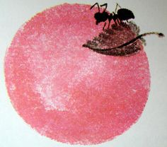 Ant on apple From Forest Homes by Vitaly Bianki (Author), Mai Miturich (Illustrator).